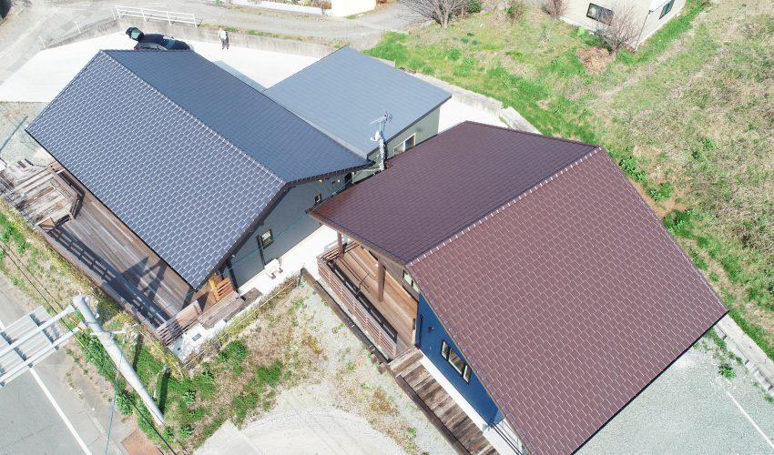植木 新築屋根工事