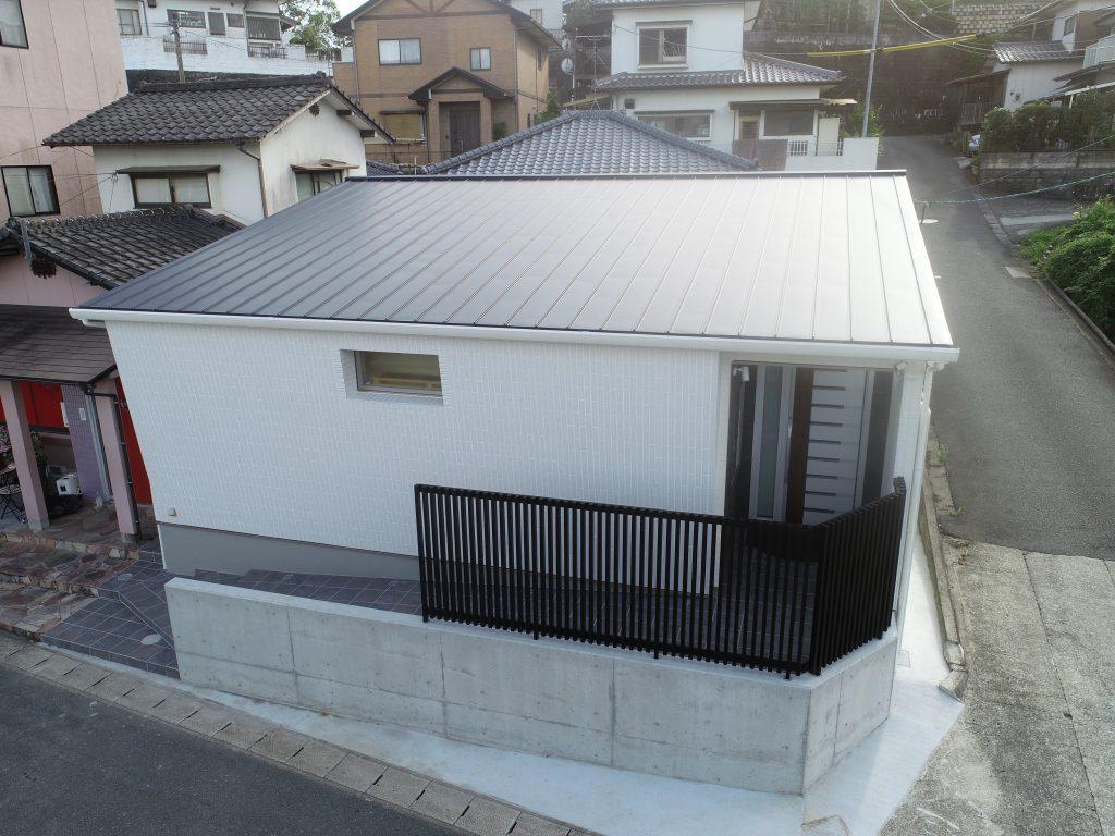 玉名市 ガルバリウム鋼板 新築工事 完成02