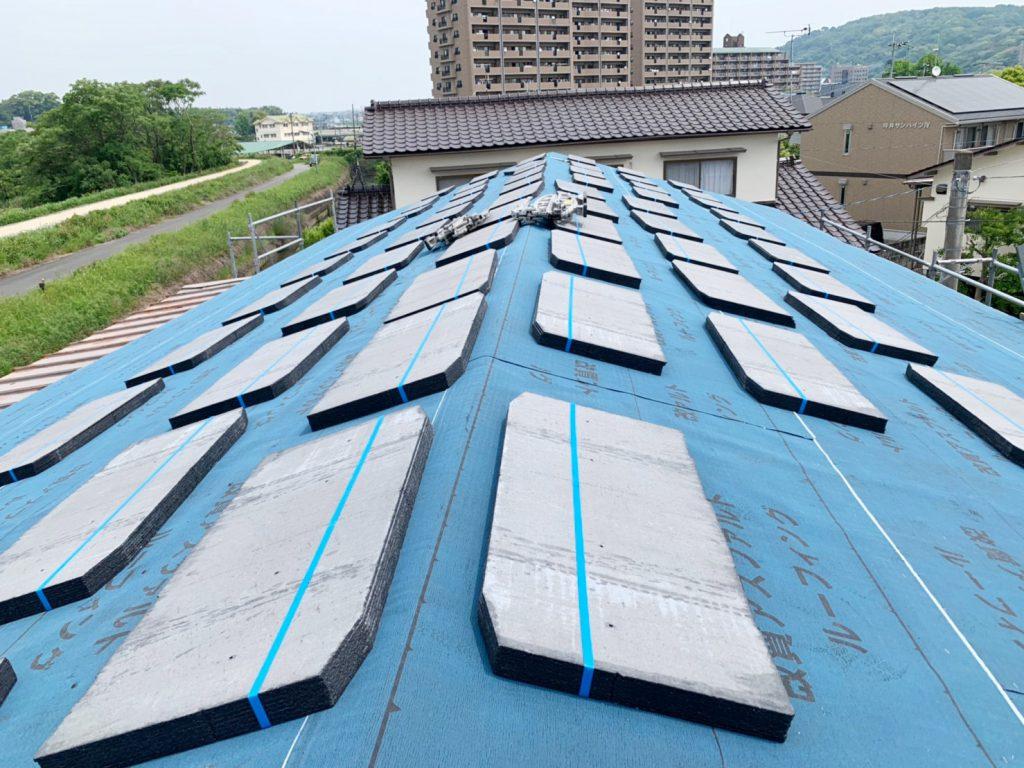熊本・中央区 屋根リフォーム工事05