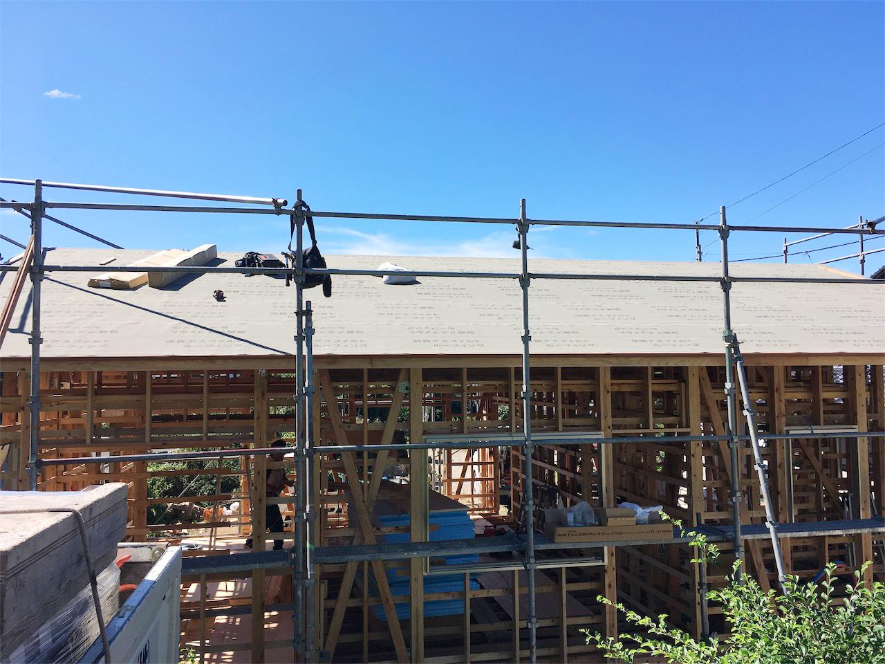 城北瓦 城南 新築屋根工事