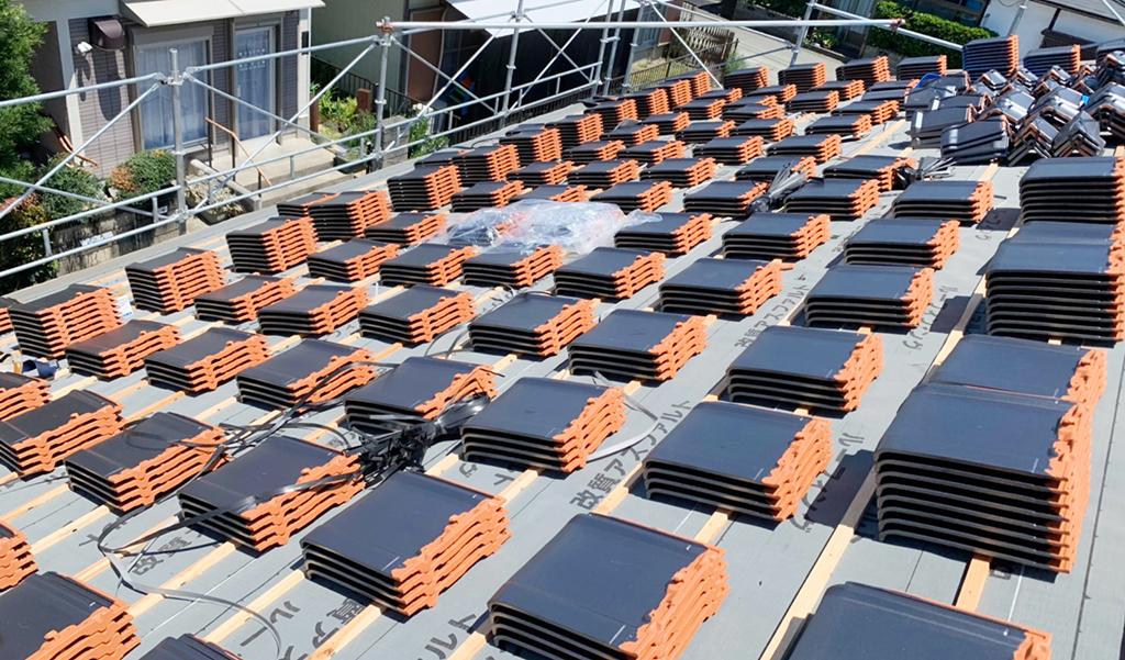 城北瓦 熊本東区 新築屋根工事