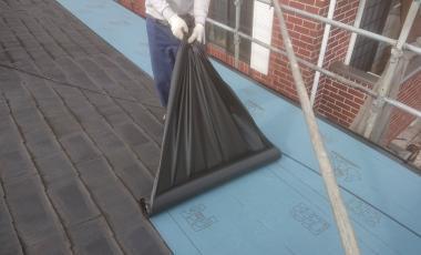 【熊本・益城】H様邸 カバー工法による屋根工事が完成しました。