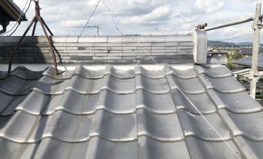 【熊本・ 玉名市】漆喰の剥がれによる屋根修理