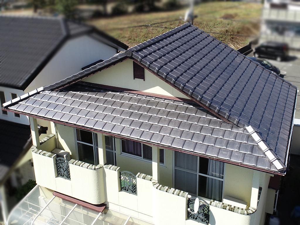 城北瓦 合志市の屋根リフォーム
