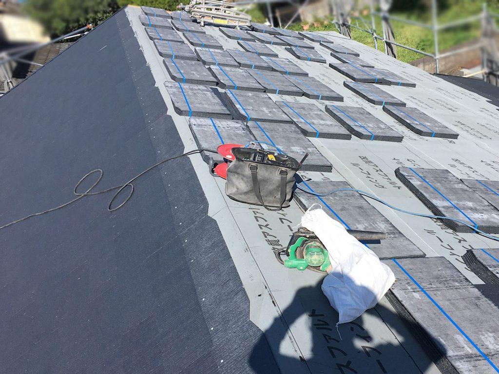 城北瓦の新築屋根工事 熊本市西区