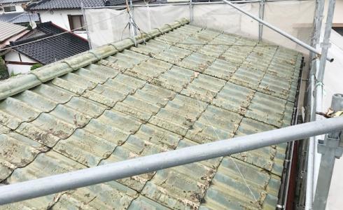 城北瓦の屋根リフォーム 大牟田市