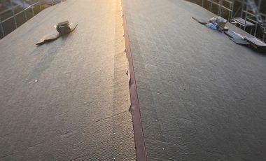 【熊本・玉名市】新築のコロニアル屋根工事