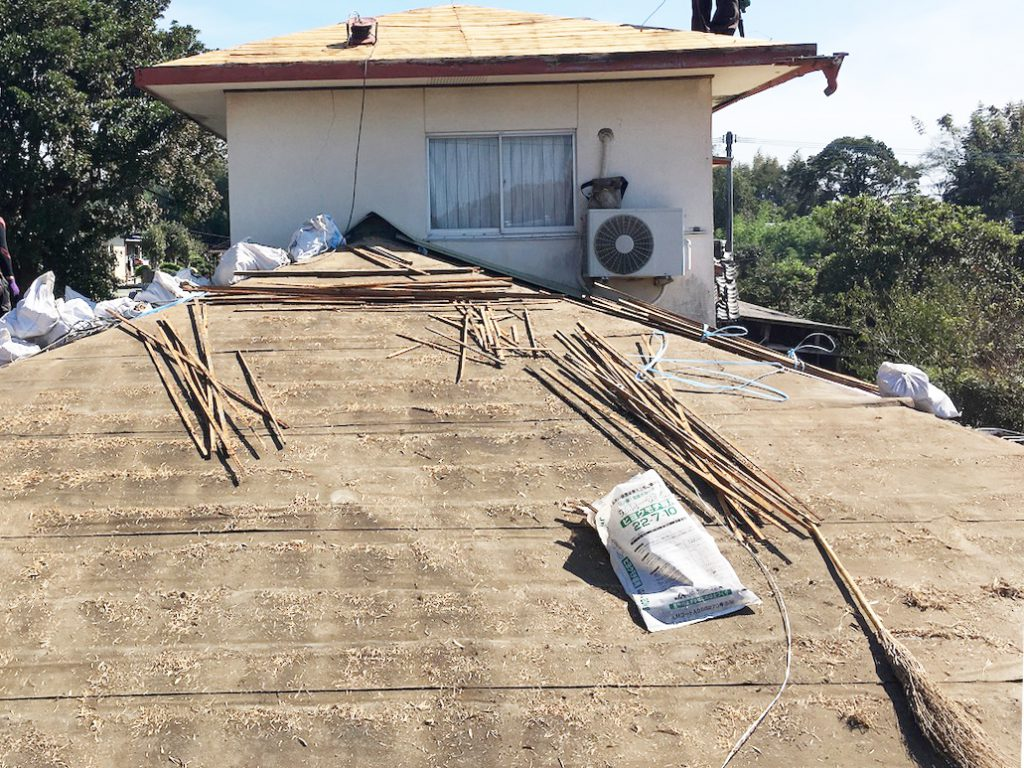 城北瓦の屋根リフォーム(葺き替え)玉名市