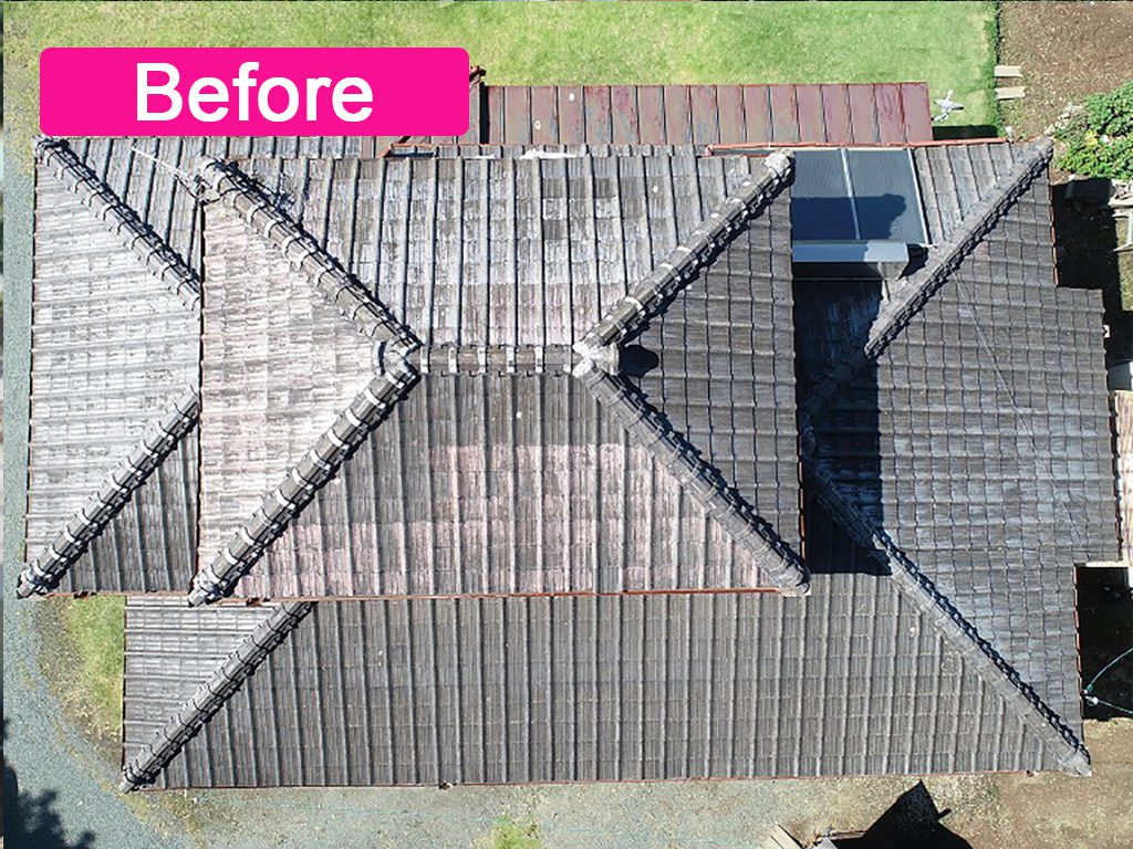 城北瓦の屋根リフォーム(葺き替え)熊本県玉名市