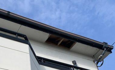 【熊本・荒尾市】軒瓦の釘の抜けによる雨漏り修理