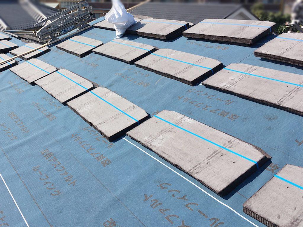 城北瓦の屋根リフォーム 熊本西区