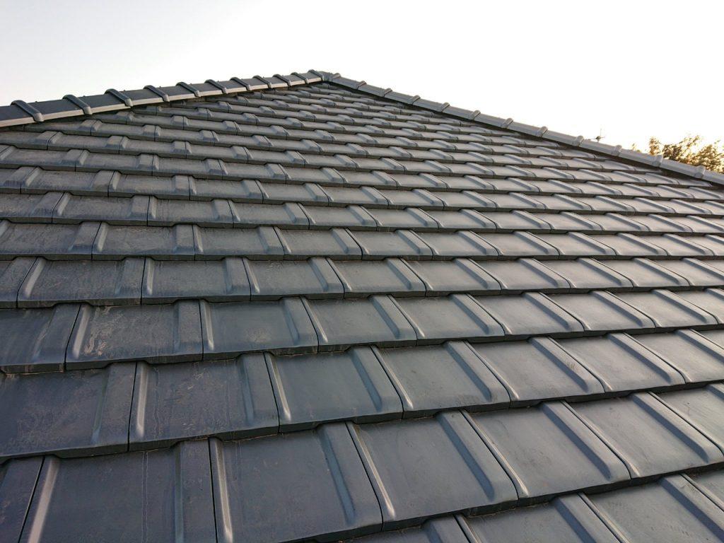 城城北瓦の新築屋根工事 御船