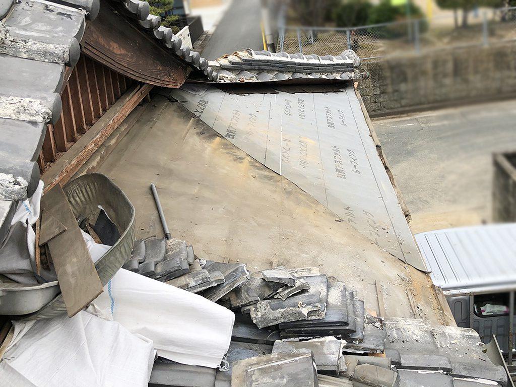 城北瓦の屋根修理 大牟田