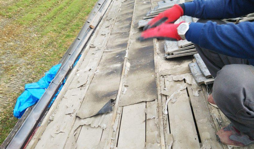 城北瓦の雨漏り修理 瀬高