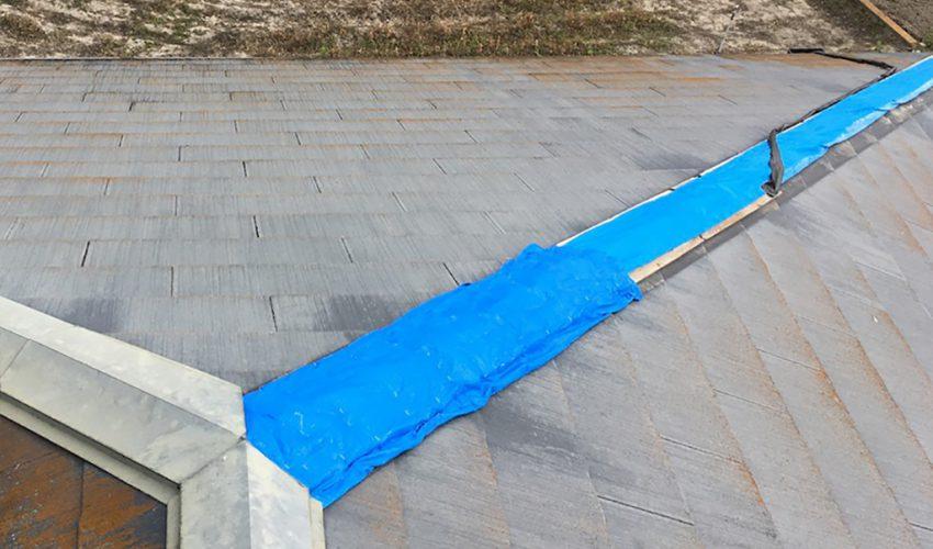 城北瓦の雨漏り修理 柳川