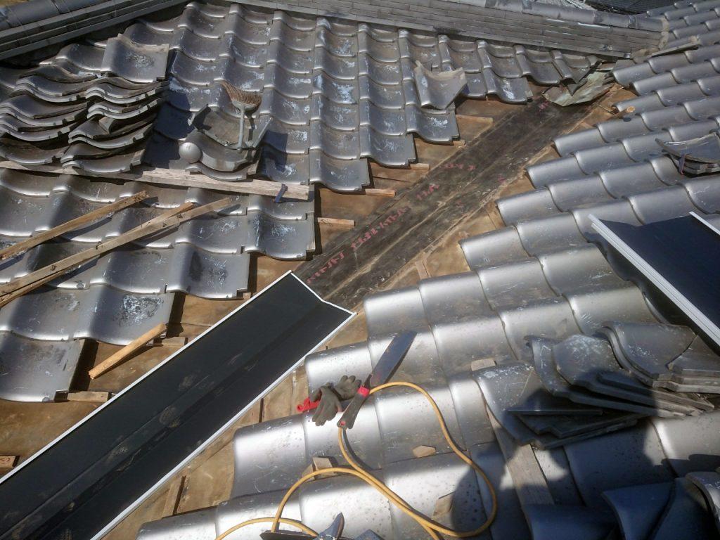 城北瓦の雨漏り修理 柳川市