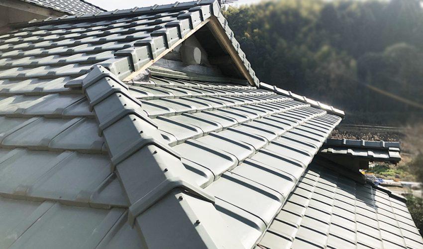 城北瓦の屋根葺き替え 熊本市西区