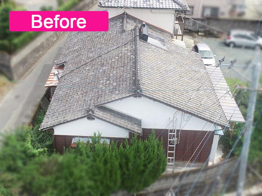 城北瓦の新築屋根工事 玉名