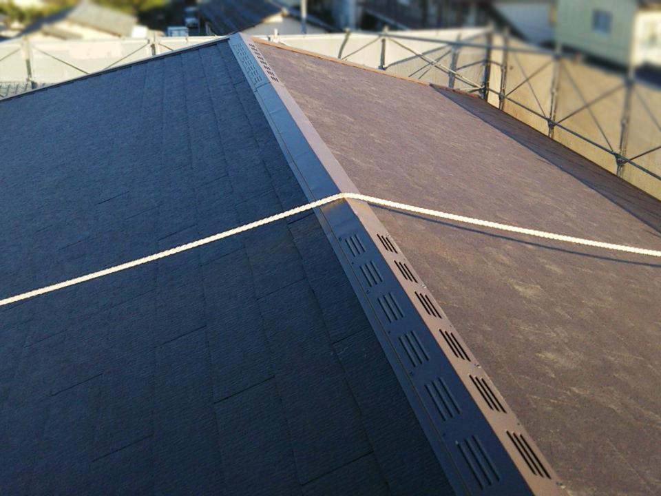 城北瓦の新築屋根工事 コロニアル 熊本市北区