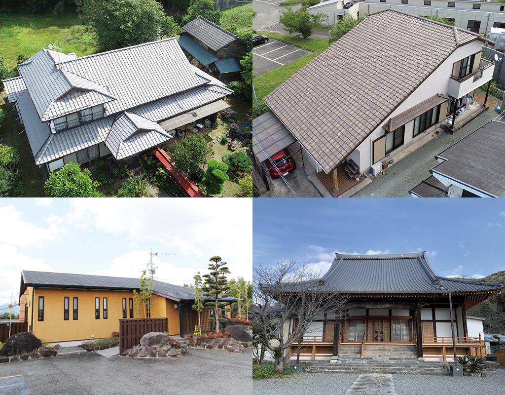 城北瓦の屋根工事の種類