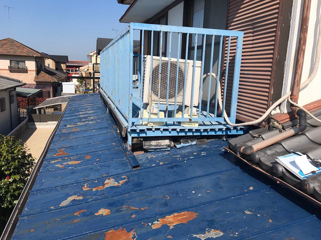 大牟田市 ガルバリウム K様邸 屋根一部葺き替え工事