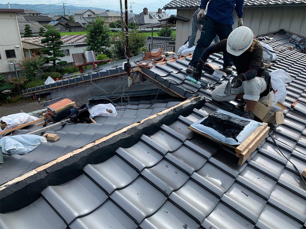 福岡県 八女市 H様邸 屋根リフォーム工事