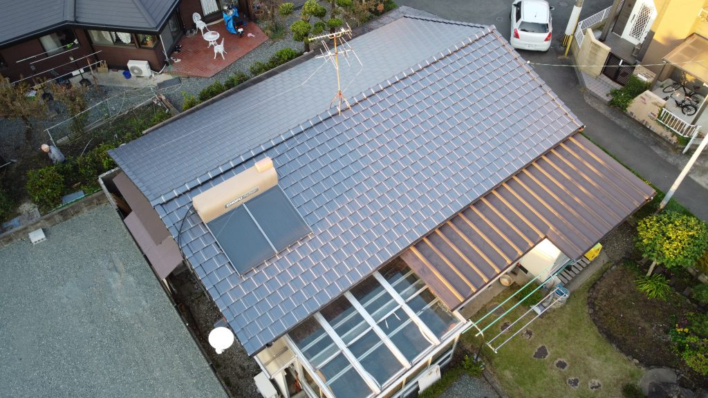 熊本市東区 F様邸 瓦葺き替え工事
